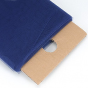 Navy Blue 140cm Tulle Fabric Bolt 140cm 40 Yards
