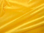 Stretch Velvet Yellow 150cm By the Yard