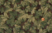 Northcott 'Riverside Flannel' Tossed Leaves on Cotton Flannel By the Yard