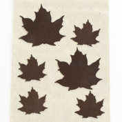 Package of 24 Assorted Rustic Metal Leaf Cutouts for Embellishing, Decorating and Crafting