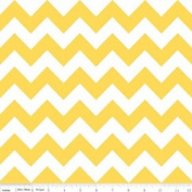 Chevron Stripe Yellow Flannel Fabric SKU F320-50