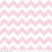 Chevron Stripe Baby Pink Flannel Fabric SKU F320-72