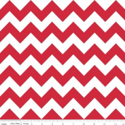 Chevron Stripe Red Flannel Fabric SKU F320-80