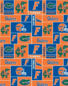College University of Florida Gators 012 Print Fleece Fabric By the Yard