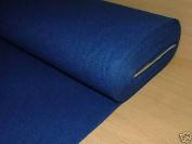 1 Yrd Blue Baize / Felt Craft Fabric Card Poker Table