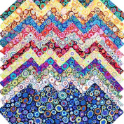 Kaffe Fassett PAPERWEIGHT Entire Collection Precut 13cm Cotton Fabric Quilting Squares Charm Pack Assortment Westminster Fibres