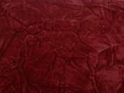 Crushed Upholstery Velvet Burgundy 150cm By the Yard