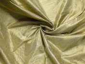 Light Gold 100% Silk Dupioni Fab 140cm By the Yard