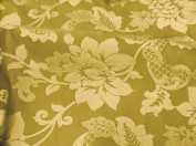 Gold Upholstery Drapery Fabric 280cm Wide By the Yard