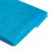 Koyal Wholesale 10-Yard Sheer Organza Fabric Bolt, 150cm , Aqua
