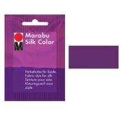 Marabu Silk Colour : 12.5 grm Hand dye for Silk fabrics : AUBERGINE [Toy]