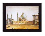 Mosque, Shiraz, Iran. Overall frame size 20cm x 15cm . Ideal for most gifting occassions.