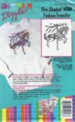 Carousel Pony - Preshaded Mini Fashion Iron-On Transfers - 20cm X 28cm Sheet (Dizzle Art) #54043