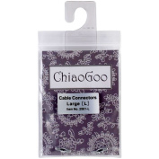 ChiaoGoo Cable Connectors for Spin and Twist Interchangeable Knitting Needle Sets