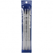 """Quicksilver Double Point Knitting Needles 7"""" 5/Pkg-Size 7mm"""