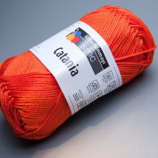 Catania 100% cotton Bright Orange #189