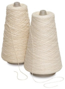 Trait-tex Natural Cotton Warp Yarn, 2-Ply, Pack of 2,100 Yards