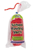 Trait-tex 3-Ply School Roving Yarn Skein, Red, 150 Yards