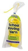 Trait-tex 3-Ply School Roving Yarn Skein, Yellow, 150 Yards