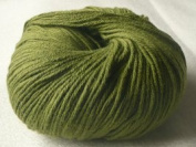 Lotus Yarns Khaki Green Cotton Cashmere Autumn Wind 10