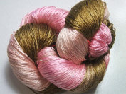 100% Pure Reeled Mulberry Silk Cobweb Lace Yarn 50 gm 470 Yard Skein Neapolitan Lot A