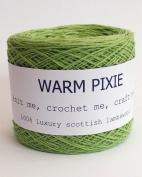 Luxury 100% Soft Scottish Lambswool - Green - For Hand & Machine Knitting, Crochet and Crafting.