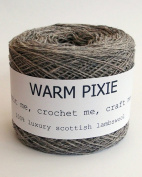 Luxury 100% Soft Scottish Lambswool - Mid Grey - For Hand & Machine Knitting, Crochet and Crafting.