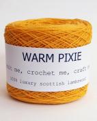Luxury 100% Soft Scottish Lambswool - Yellow - For Hand & Machine Knitting, Crochet and Crafting.