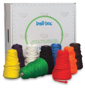 Trait-tex 4-Ply Jumbo Roving Yarn Dispenser, 240mls, Bright Colours