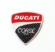 Ducati Corse Brand of Super Bike Logo Iron on Patch for Cloth,hat,jeans,t Shirt