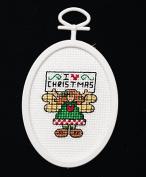 I LOVE Christmas - Cross Stitch Kit