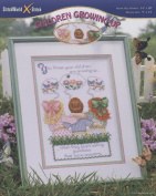 Children Growing up Counted Cross Stitch Pattern Pamphlet