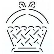 Basket Quilting Stencil