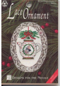 Teapot Lace Ornament Counted Cross Stitch Kit