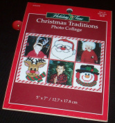 Christmas Traditions Photo Collage