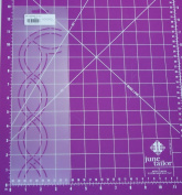 5.1cm Cable Border with Corner Quilting Stencil