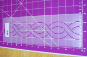 5.1cm Cable Border Quilting Stencil