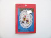 Cross stitch kits Lace ornament Joyful Noise Christmas