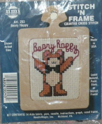 Beary Happy - Stitch 'N Frame Counted Cross Stitch Kit with Frame