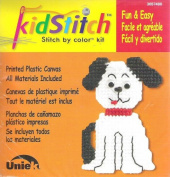 KidStitch Plastic Canvas Kit- Dog