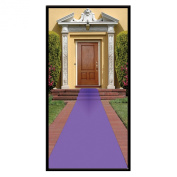 Beistle Purple Carpet Runner, 60cm by 15-Feet