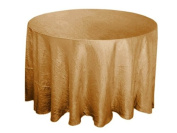 300cm Round Taffeta Crinkle Round Tablecloth - 22 colours