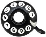 Kikkerland Dring Dring Bike Bell, Rotary Dial Telephone