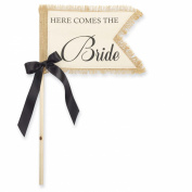 Mud Pie 'Here Comes The Bride' Wedding Flag