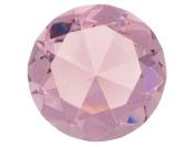 Beautiful Gaint Birthstones Paperweight Glass Diamond 10cm Crystal, Light Pink