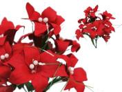 70 TIGER LILY Silk Wedding Flowers WEDDING SUPPLIES