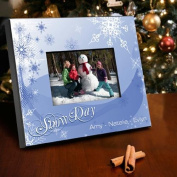 Personalised Snow Day Picture Frame