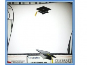 Cap and Scroll 2013-Graduation Letterhead-25 Sheets* 48 Graduate Seals**Package of Two (2) Items