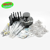New Years Ultimate Silver Party Kit for 25