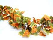 48' 3D Fall Autumn Leaves Chain Silk Wedding Garlands